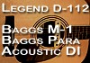 The Baggs M-1, Para Acoustic D.I., Legend D-112