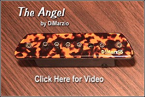 Click Here for video of the new DiMarzio Angel Pickup