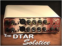 DTAR Solstice 4 input, two channel Preamp, EQ, Blender & Splitter