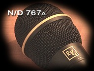 ElectroVoice N/D 767a Dynamic Microphone