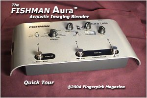 Fishman AURA Acoustic Imaging Blender