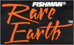 Fishman's Rare Earth Magnetic Sound Role Pickups