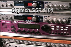 Digitech's GSP1101 as an acoustic guitar preamp and effects processor
