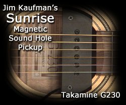 The Sunrise Pickup meets a Low End Takamine