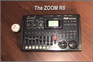 Zoom's R8, simply the easiest way to make professional recordings